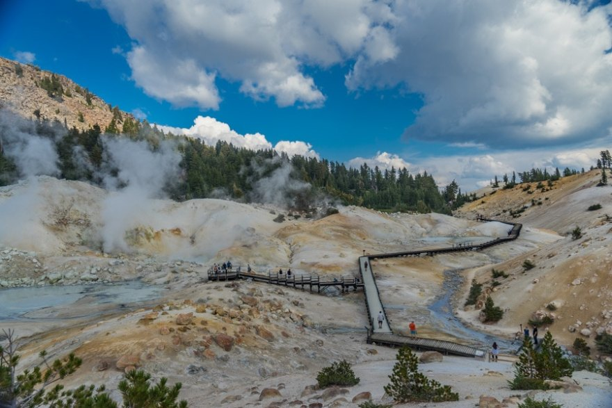 California Adventures bumpass hell hike