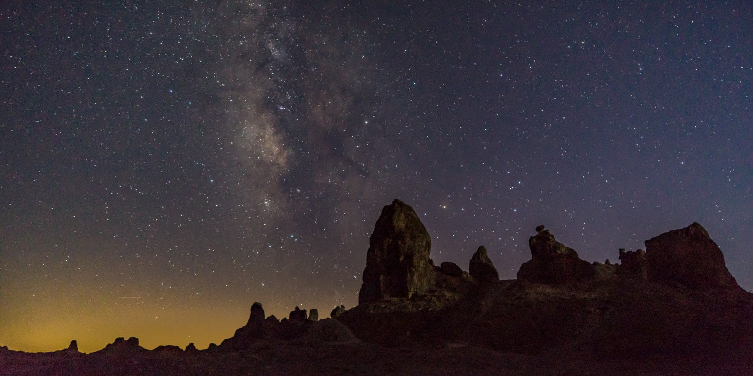Trona Pinnacles Californa