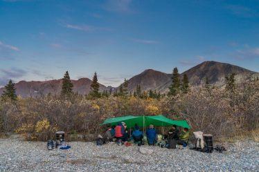 Extreme travel Lake Clark Alaska