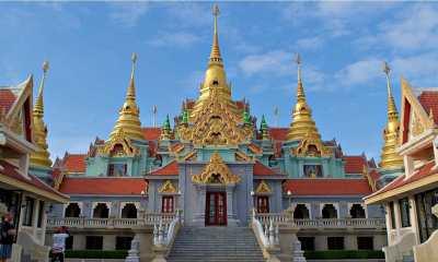 thailand Phra mahathat chedi baan grood