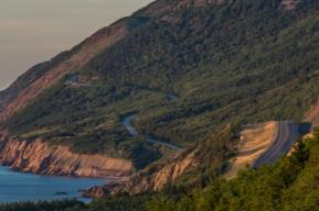 cabot Trail sunset
