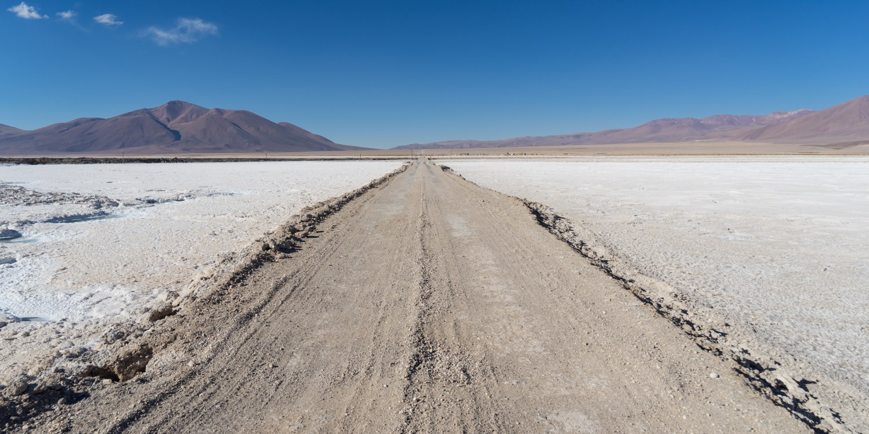 Northern Argentina salt flats