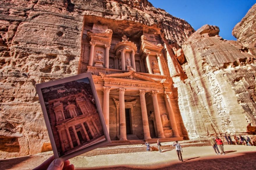 postcard tradition petra