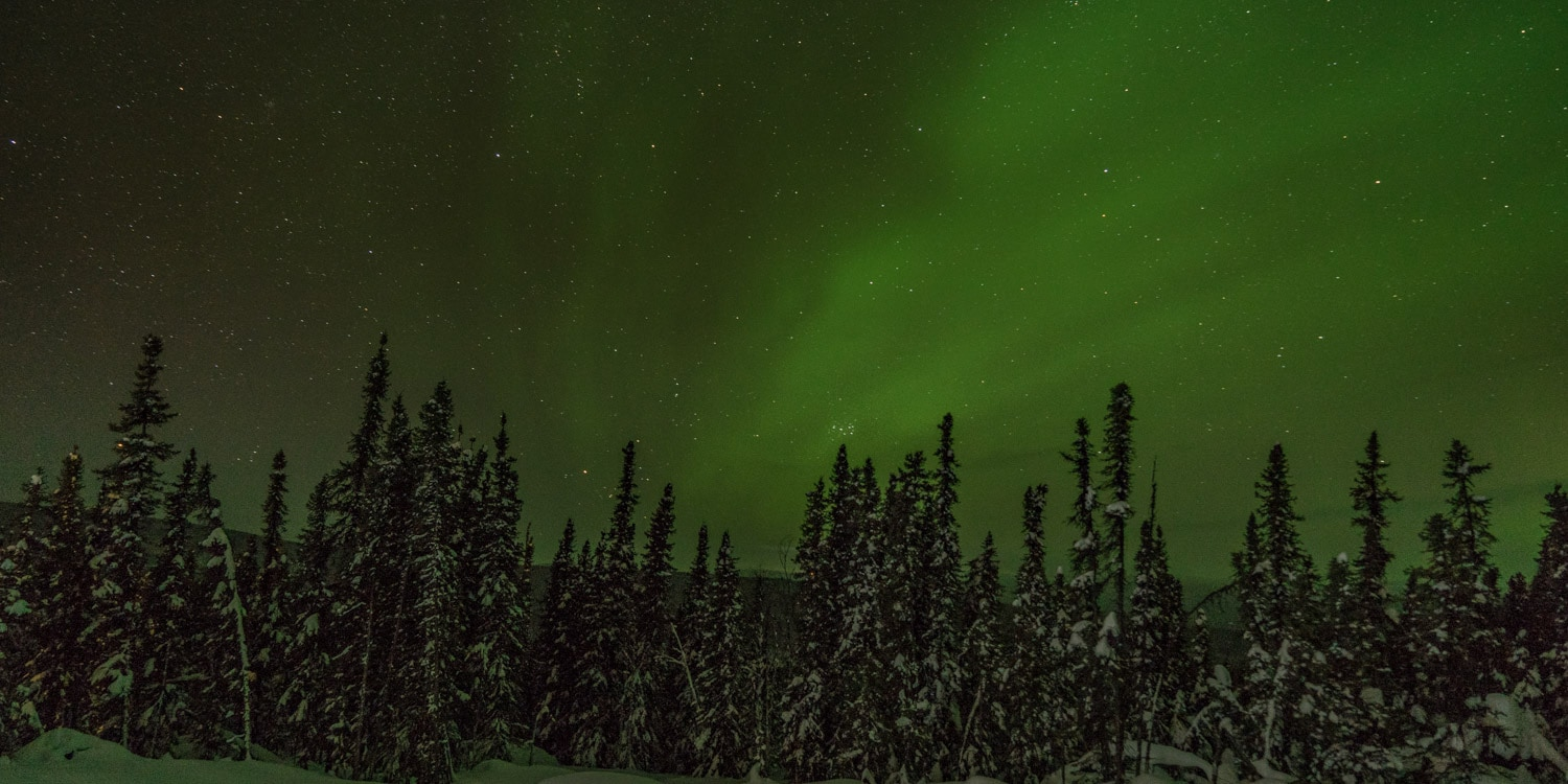 northern lights trip Fairbanks Alaska