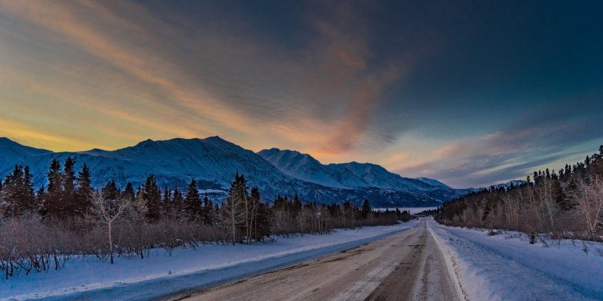 Fairbanks Alaska winter driving