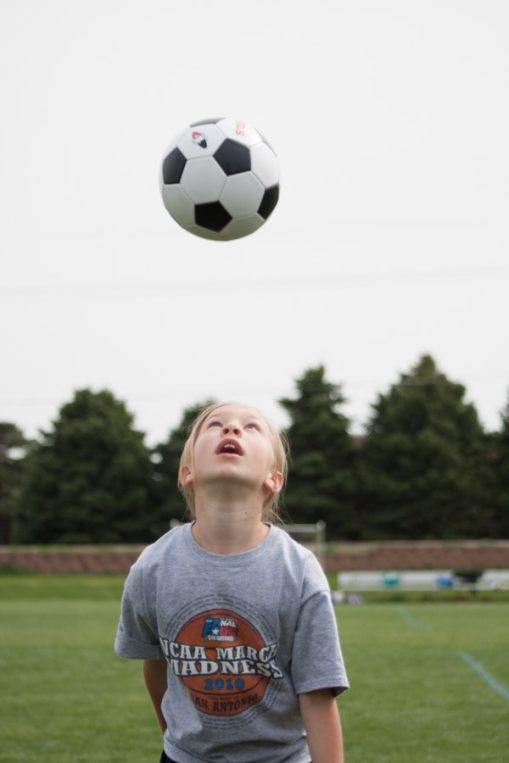 The young soccer star!