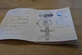 Saint Olav Ways thru hike passport