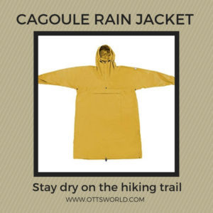 hiking rain jacket cagoule