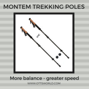hiking gear montem poles