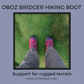 Oboz bridger hiking boot