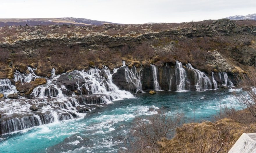 iceland lavafall