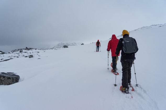 nuuk greenland snow shoe