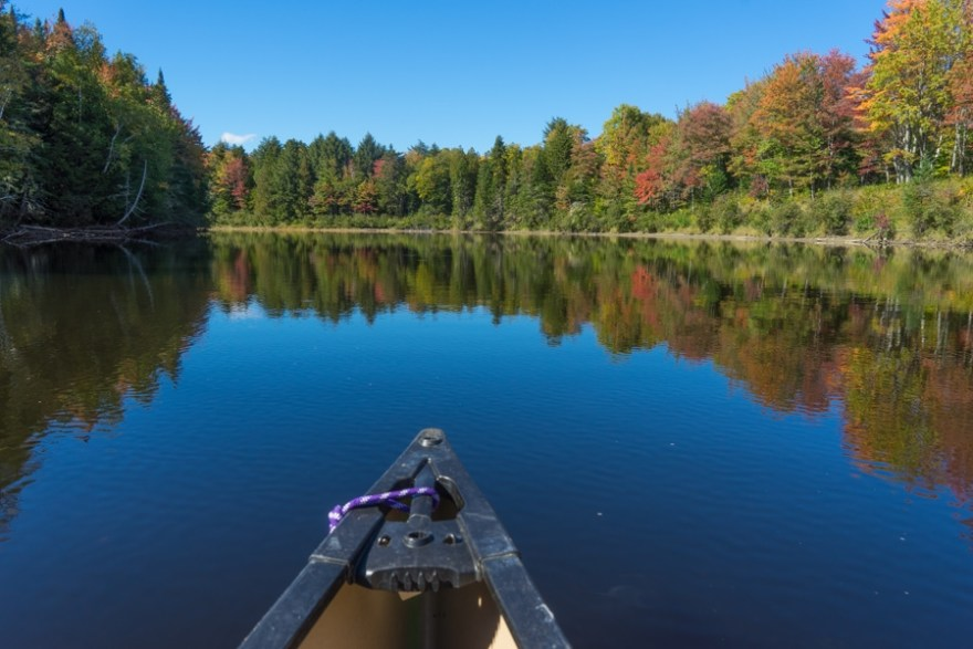maine huts and trails canoeing