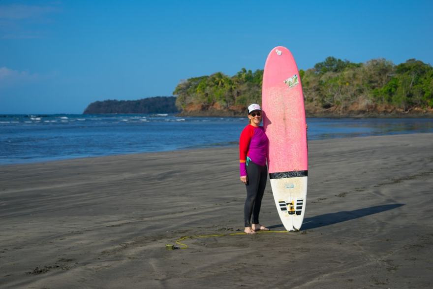 Experiencing Sisterhood on a Surf and Yoga Retreat