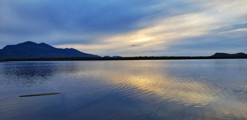 sunset Flagstaff lake