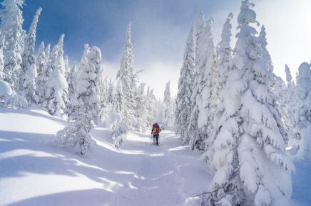 Quebec winter activities vallee des fantomes