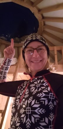 yurt glamping quebec winter