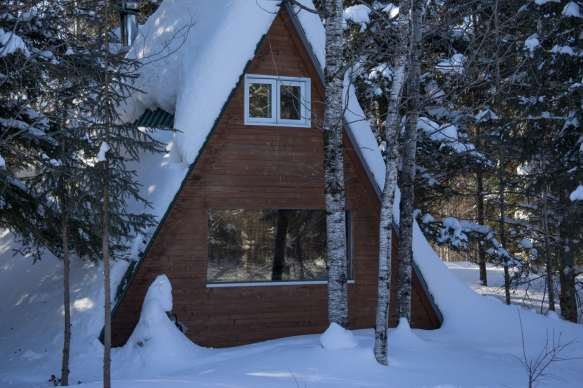 Quebec winter logding