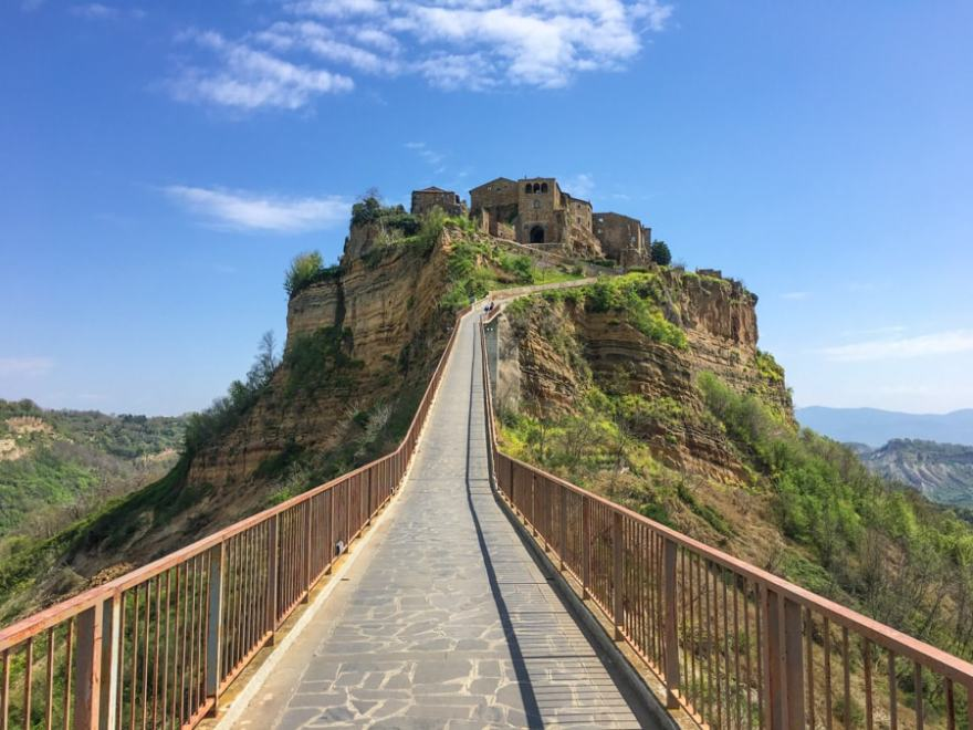 day trip from rome civita