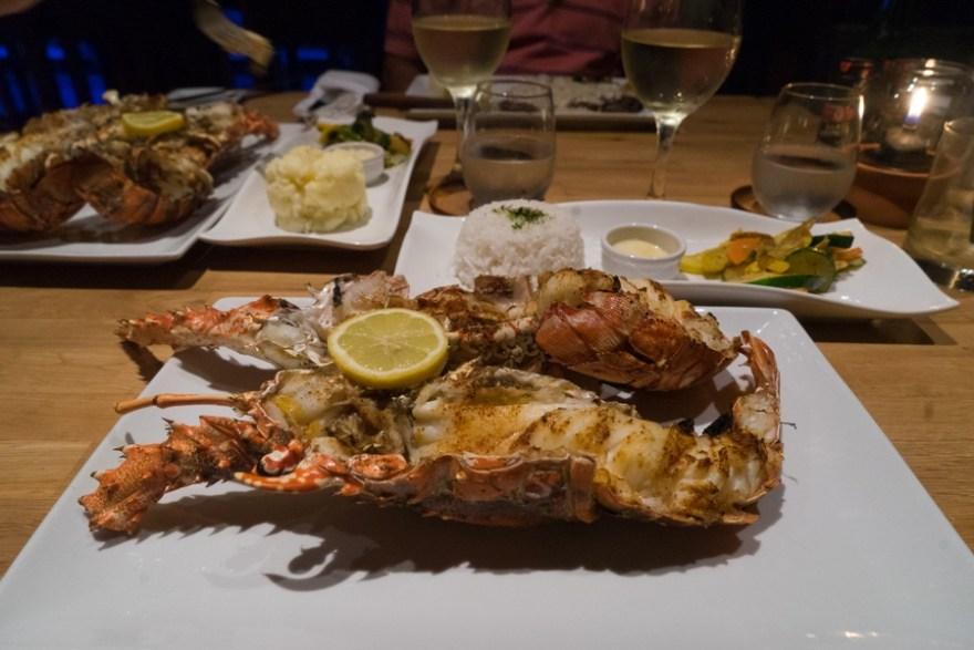 saba lobster