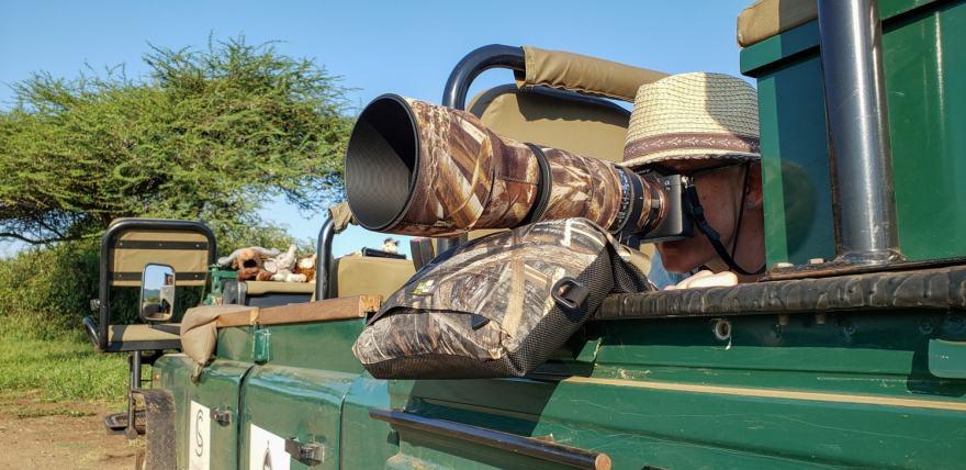 Thanda safari photography vehicle