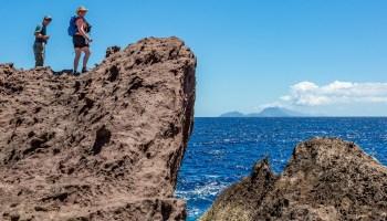 hiking trails in Saba