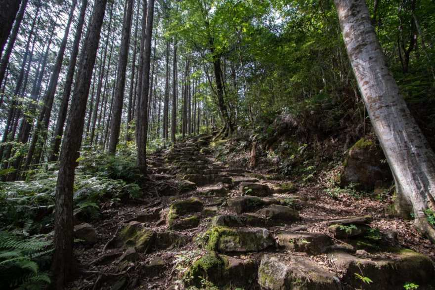 trail difficulty kumano kodo