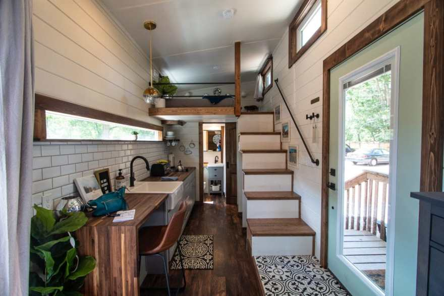 juniper tiny home inside