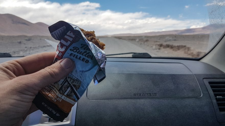 hiking snacks clif bar