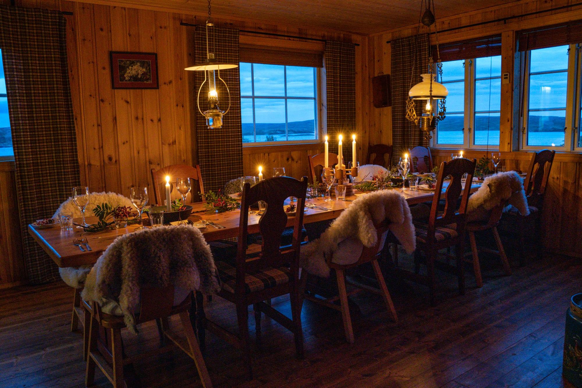 sweden countryside dinner