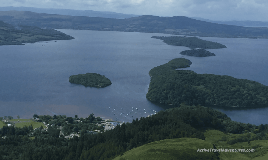 View form Conic Hill