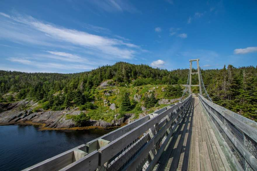 suspension bridge la manche