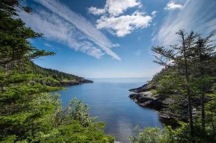 Flamber head hike east coast trail