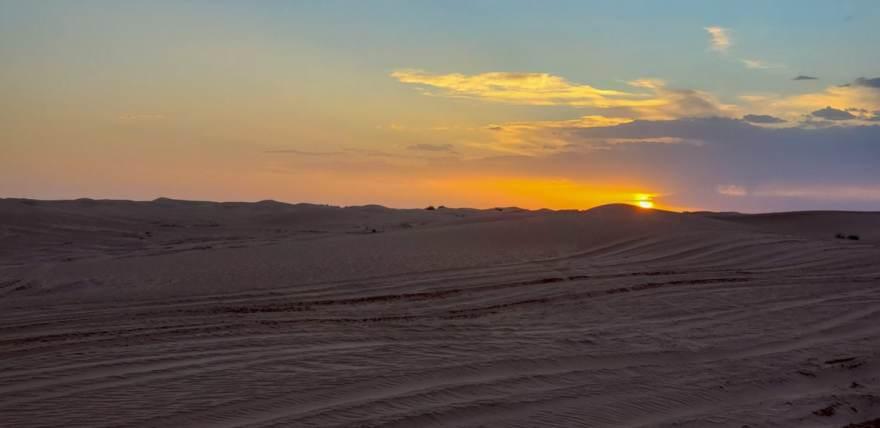 desert sunrise morocco