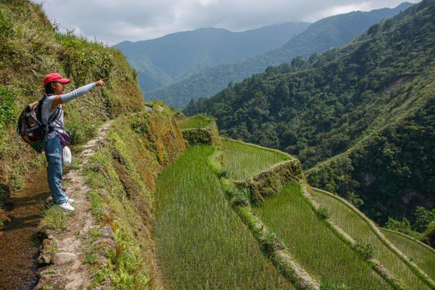 rice terrace hike guide philippines