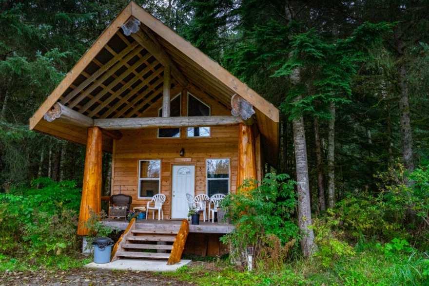 Bella Coola Lodging cabins