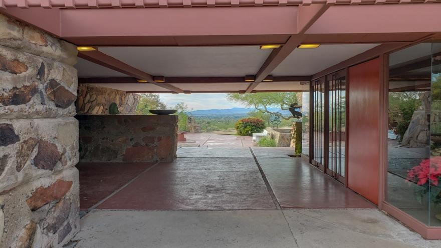 Visite de la maison de Frank Lloyd Wright