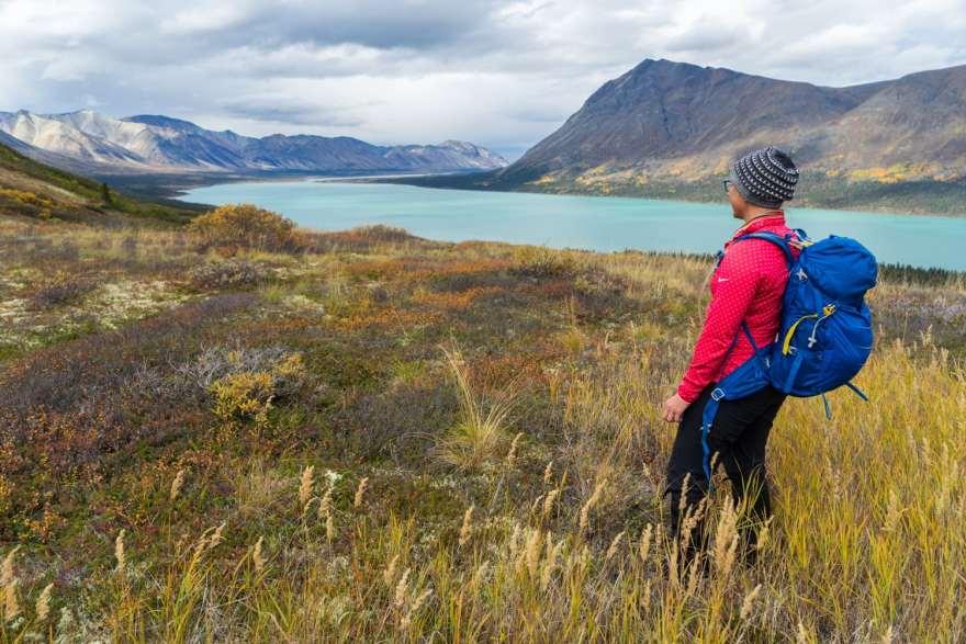 hiking with lowepro photosport backpack