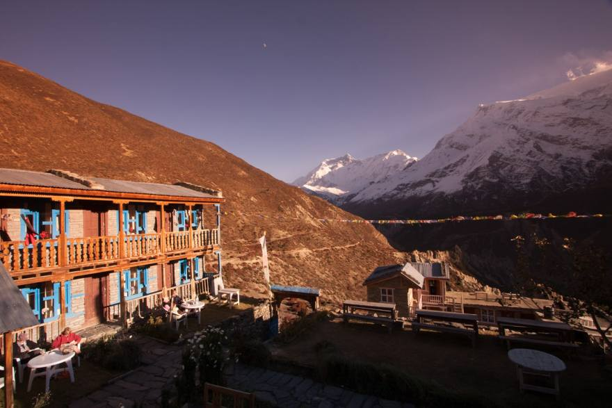 annapurna circuit teahouse lodging