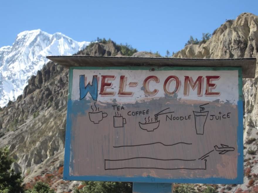 nepal village annapurna