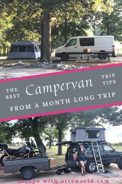 campervans at campsites