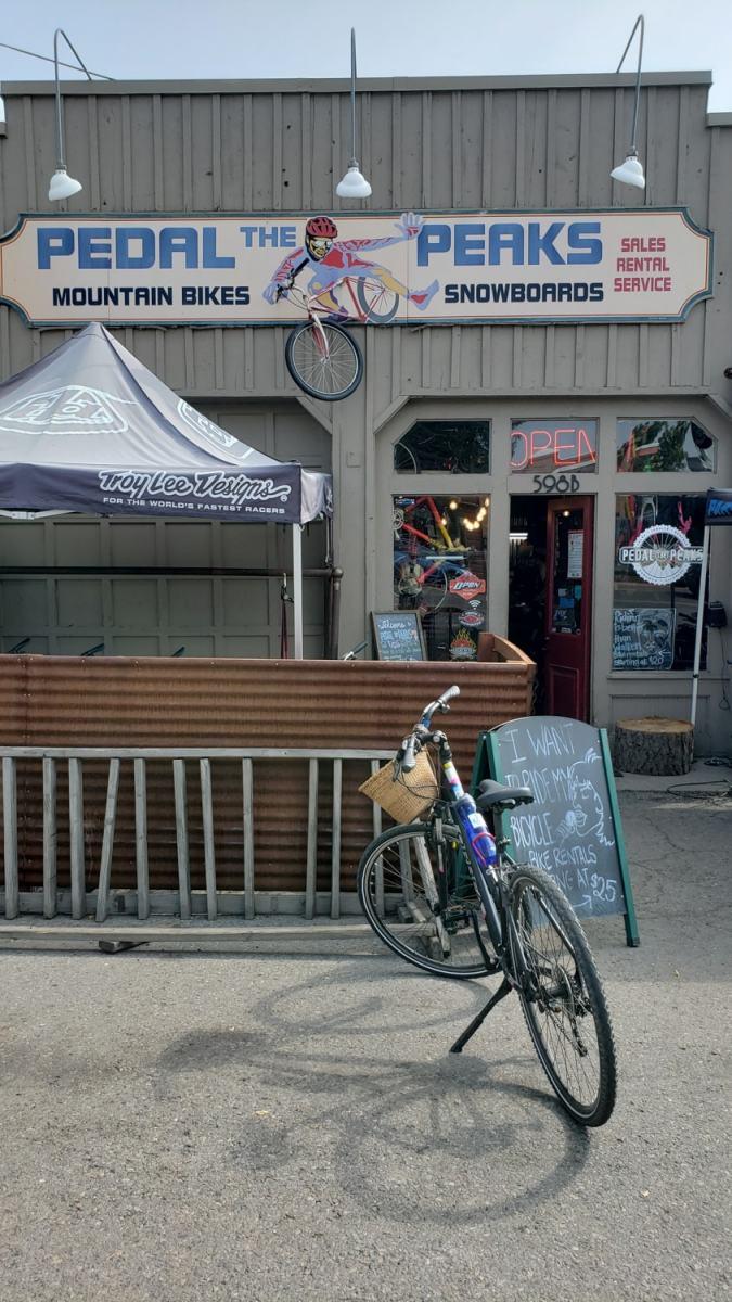 pedal the peaks durango bike rental