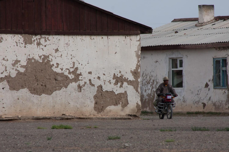 gobi desert village