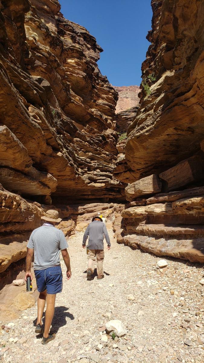 black canyon hike