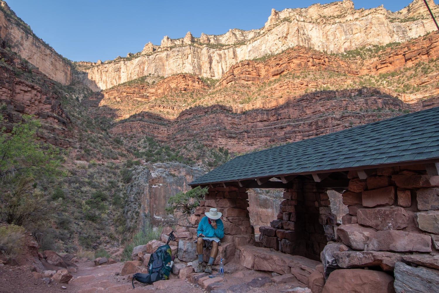 resthouse bright angel trail