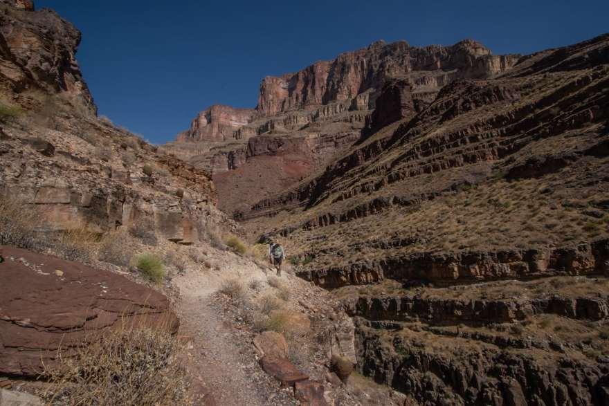 Thunder falls hike grand canyon