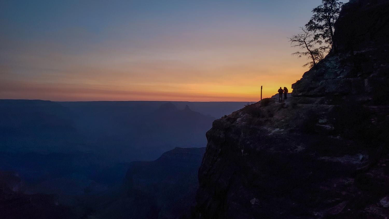 bright angel trail sunrise