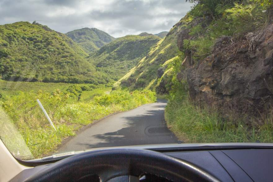 kahekili highway dangrous road