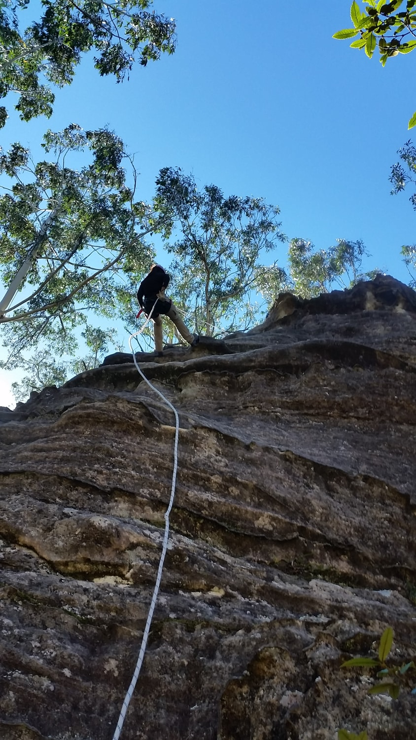 learning to abseil