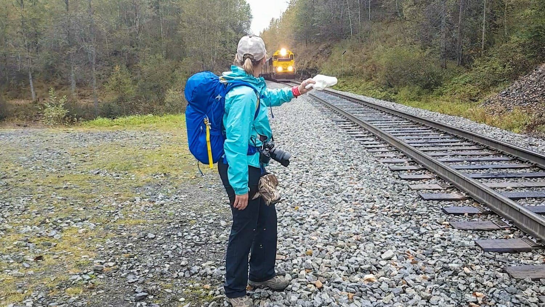hurricane turn whistle stop train